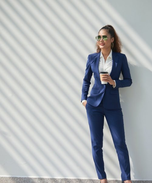 Successful business lady